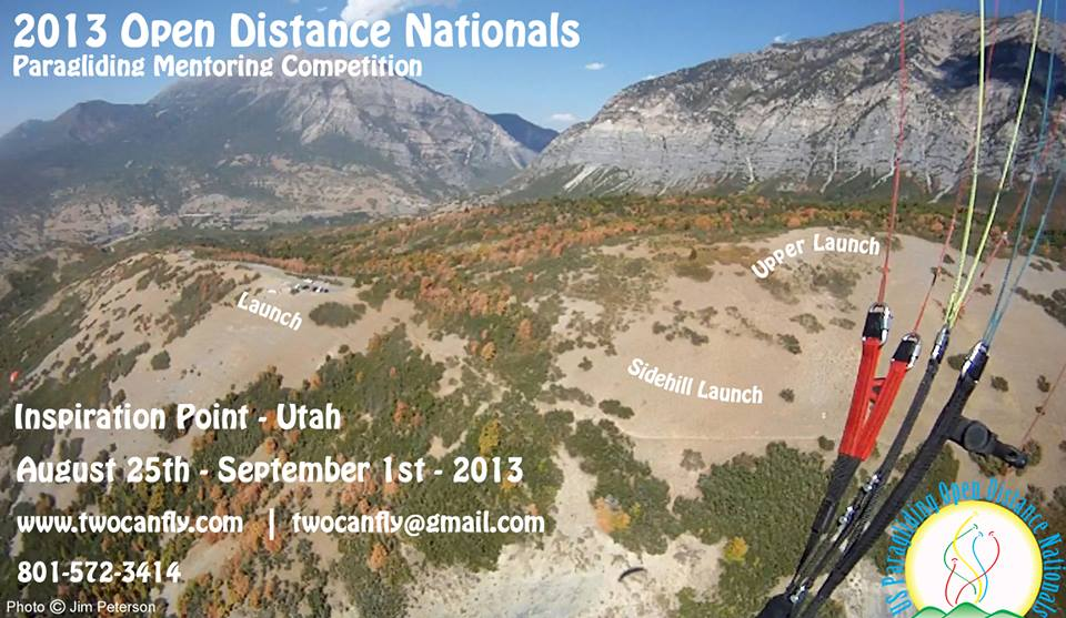 Open Distance Nationals & Mentoring Competition